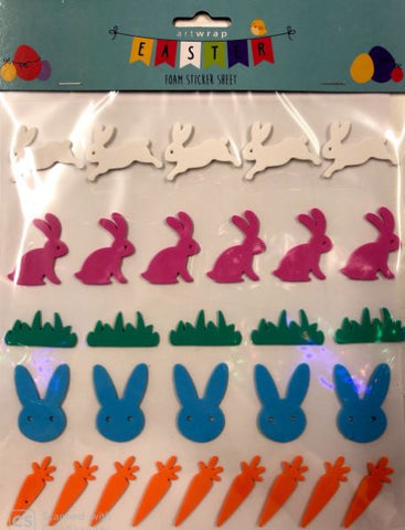 Easter Foam Sticker Sheet
