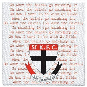 Napkins - AFL St Kilda Saints Pk 20