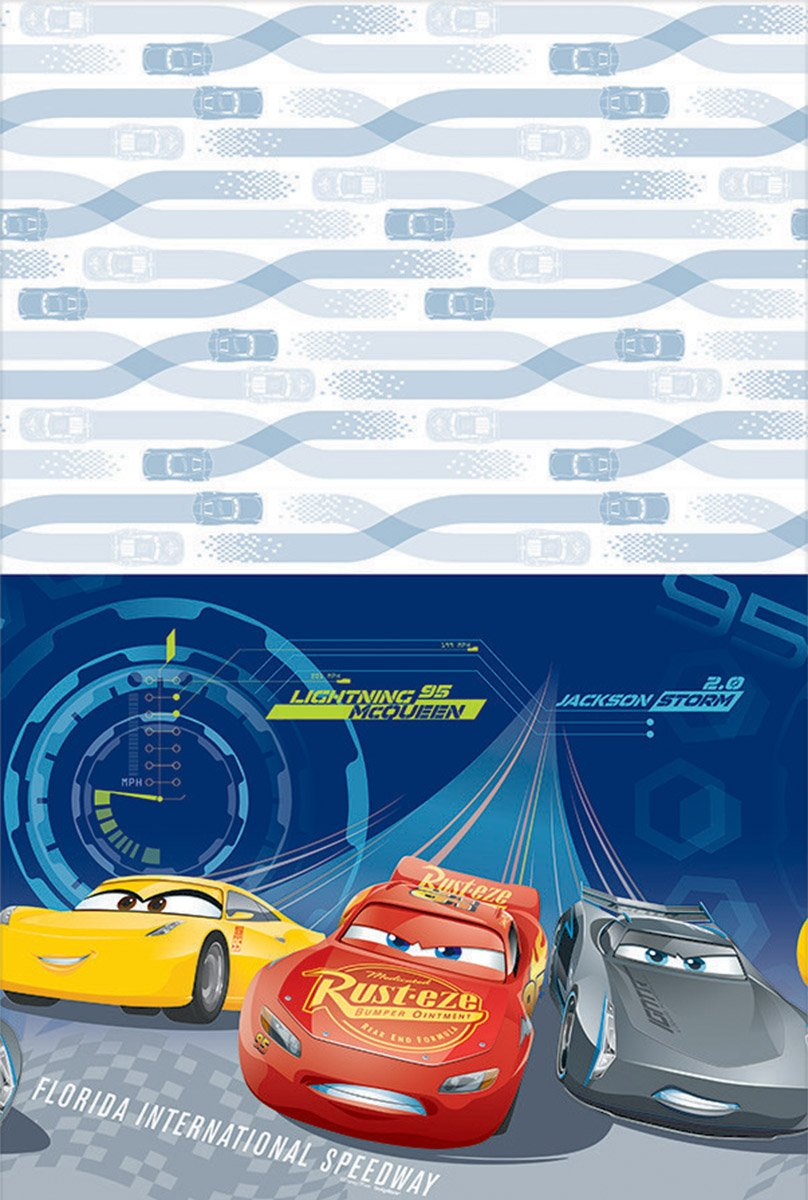 Tablecover plastic - Cars 3
