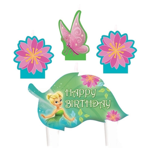 Candle Set - Disney Fairies 4 Pc