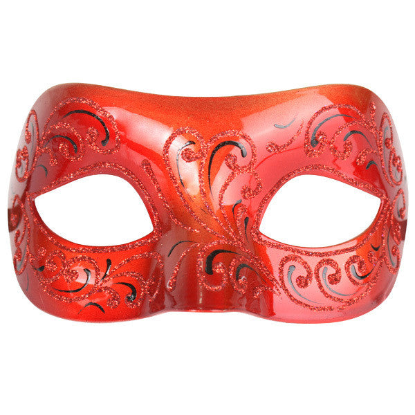 Masquerade Eye Mask - Elegenza Red