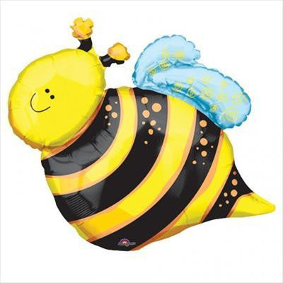 Foil Balloon Supershape - Happy Bee