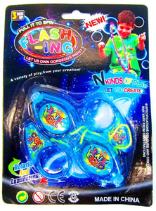 Finger Spinner with Lights Asstd