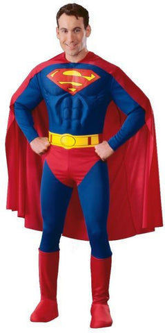 Costume - Adult Muscled Super Hero (Adult)