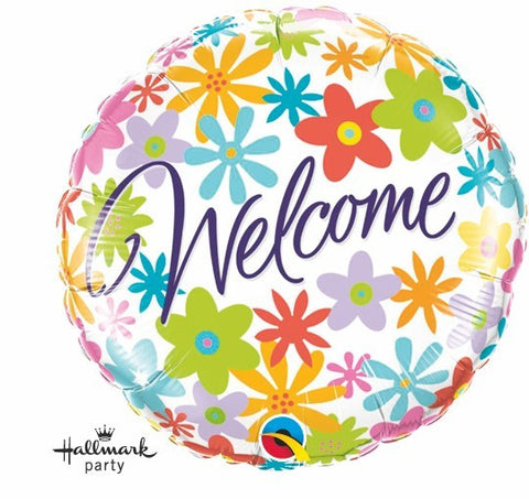 "Foil Balloon 18"" - Welcome"
