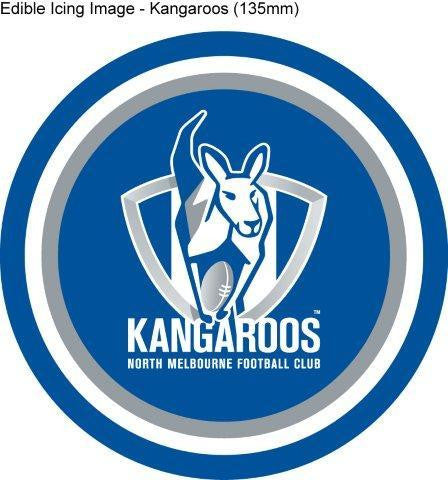 Edible Icing Image - AFL North Melbourne Kangaroos