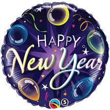 "Foil Balloon 18"" - New Year Celebrate"