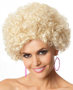 Wig - Party Afro (Blonde)