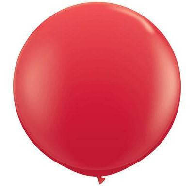 "Qualatex 36"" Standard Latex - Red"