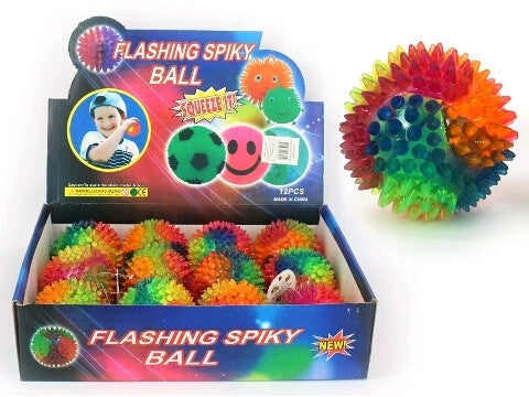 Ball - Flashing Spiky Rainbow