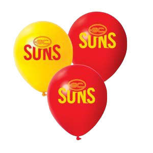 "AFL 11"" Print Latex - Gold Coast Suns"