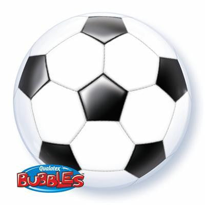 "Bubble Balloon 22"" - Soccer Ball"