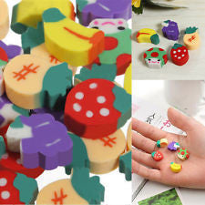 Erasers - Mini Girls Asstd Pk 20