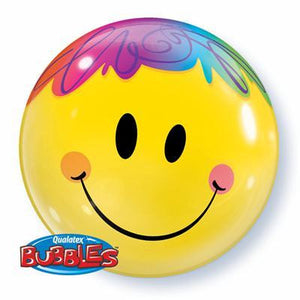 "Bubble Balloon 22"" - Bright Smile"