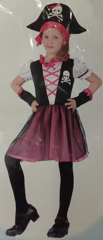 Costume - Deluxe Pirate Girl (Child)