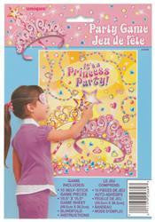 Party Games - Pin the Star on the Princess Tiara