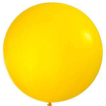 "Qualatex 36"" Jewel Latex - Citrine Yellow"