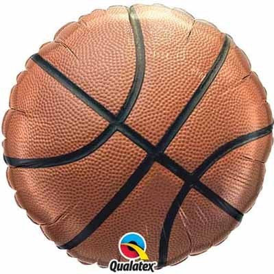 "Foil Balloon 18"" - Basketball"
