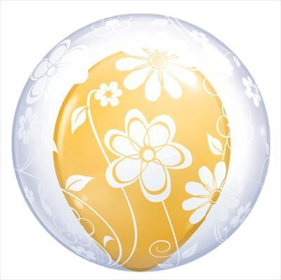 "Bubble Balloon 20"" - Deco Floral"