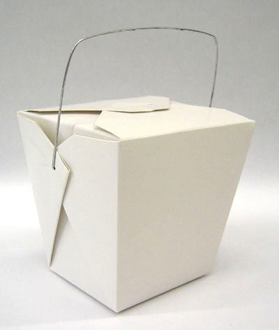 Loot Bags - Noodle Boxes White