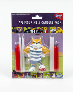 Candle Set - AFL Geelong Cats