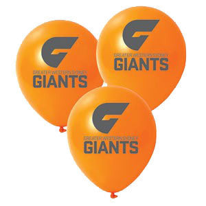 "AFL 11"" Print Latex - GWS Giants"