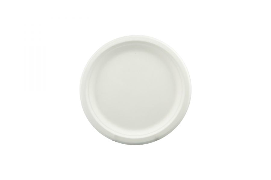 Sugar Cane Plate - Bio Earth Sugar Cane Plate 180mm