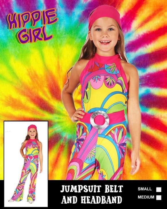 Costume - Deluxe Hippie Girl (child)