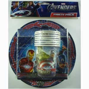 Party Pack - Avengers 40 Pc