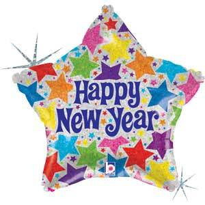 "Foil Balloon 18"" - New Year"