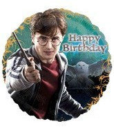 "Foil Balloon 18"" - Harry Potter Birthday"