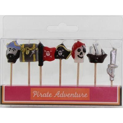 Candle Picks - Pirate 7 Pc