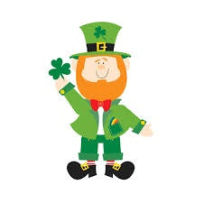 Cutout - St Patrick's Day Leprechaun Jointed