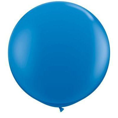 "Qualatex 36"" Standard Latex - Dark Blue"