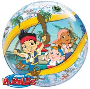 "Bubble Balloon 22""  -Jake and the Neverland Pirates"