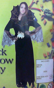 Costume - Black Widow Lady (Adult)