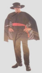 Costume - Zorro (Adult)