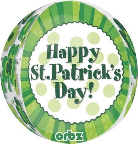 Foil Balloon Orbz - St Patrick's Day