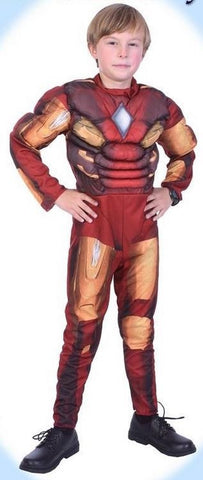 Costume - Deluxe Iron Boy (Child)
