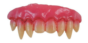 Teeth - Vampire Double Fang Veneers with Dental Putty