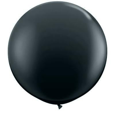 "Qualatex 36"" Fashion Latex - Onyx Black"
