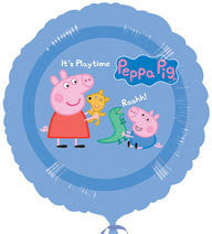 "Foil Balloon 18"" - Peppa Pig Playtime"