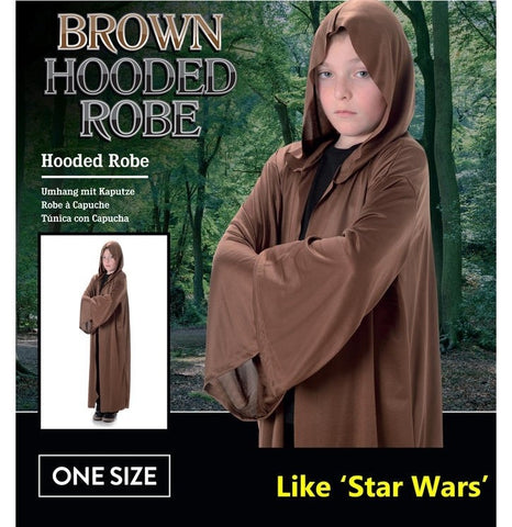 Costume - Brown Hooded Robe (Child)