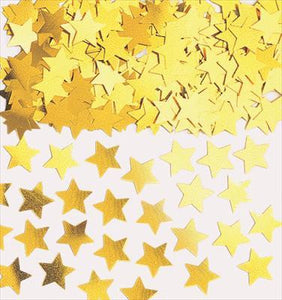 Confetti Scatters - Stars Gold 10mm