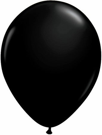"Qualatex 11"" Fashion Latex - Onyx Black"