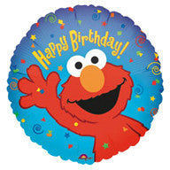 "Foil Balloon 18"" - Elmo Birthday"