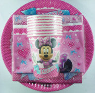Party Pack - Minnie Mouse 40 Pc