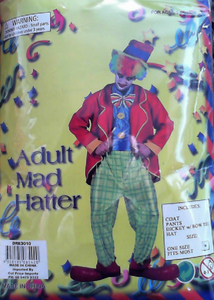 Costume - Mad Hatter (Adult)