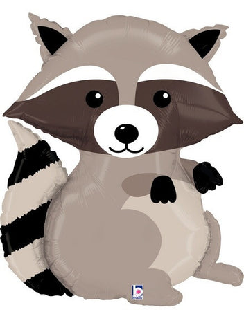 Foil Balloon Supershape - Woodland Raccoon