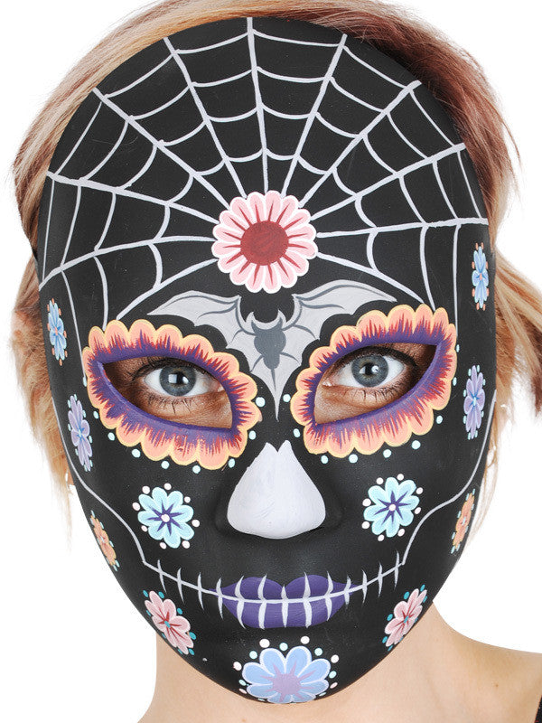 Mask - Sugar Skull Black